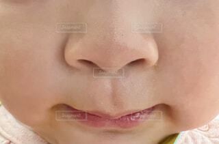 鼻シリーズ 赤ちゃんの写真・画像素材[4936416]