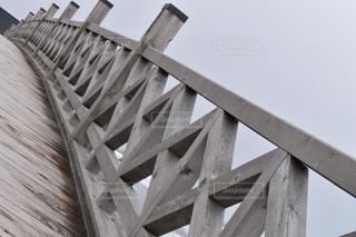 木製の橋の写真・画像素材[1070348]