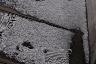 雪足跡の写真・画像素材[1070352]