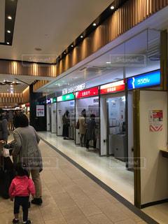 銀行ATMの写真・画像素材[1069656]