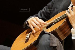クラシックギターのしらべの写真・画像素材[1281145]