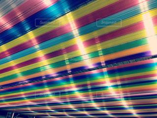 虹の屋根の写真・画像素材[1066340]