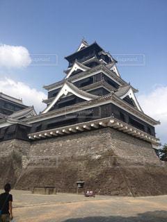壮大な熊本城の写真・画像素材[1067746]