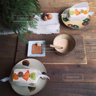 食後のデザートの写真・画像素材[1068109]