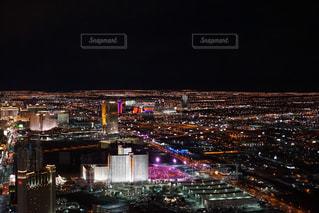 ラスベガスの夜景の写真・画像素材[1067251]