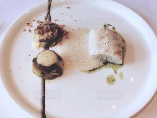 白プレートのお魚料理 - No.1071855