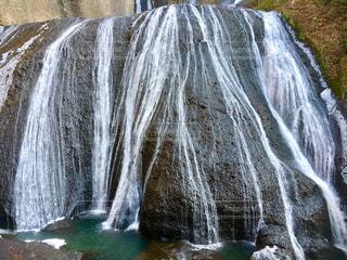 茨城県の袋田の滝の写真・画像素材[1080495]