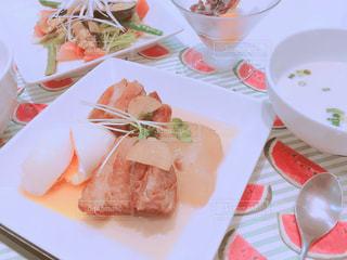 料理教室で作った手料理の写真・画像素材[1082836]