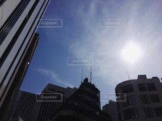 都会の空の写真・画像素材[1085666]