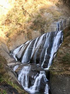 袋田の滝横からの写真・画像素材[1086240]