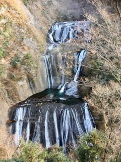 袋田の滝全体の写真・画像素材[1086243]