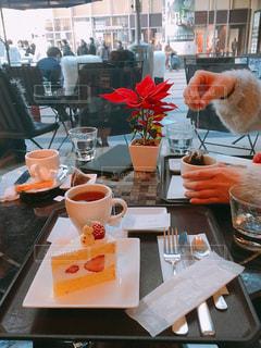六本木のリッツカールトンカフェの写真・画像素材[1086422]
