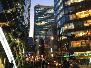 ライトアップされた赤坂の夜景 - No.1092314