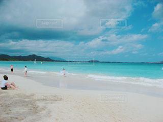 カイルアビーチの写真・画像素材[1096406]