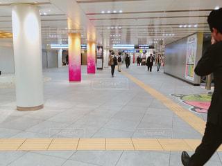 渋谷駅の地下の写真・画像素材[1112717]