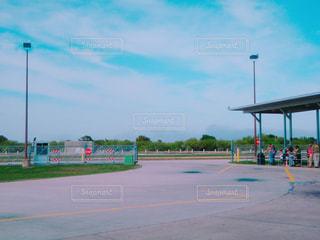 ケネディスペースセンターバス乗り場の写真・画像素材[1120808]