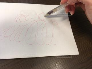 ペンが出ないの写真・画像素材[1504368]