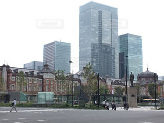 都市の高層ビルの写真・画像素材[1534478]