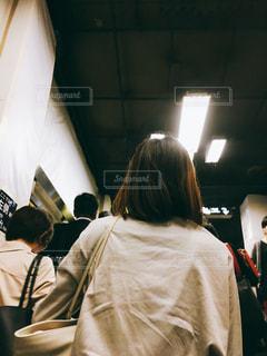 銀座駅階段の写真・画像素材[1579076]