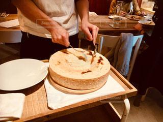 チーズターバンカシーナ、チーズリゾットの写真・画像素材[1605591]