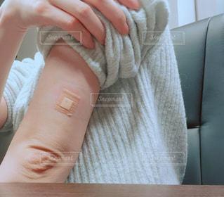 インフルエンザ予防接種の写真・画像素材[1622809]