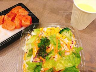 明太子サラダの写真・画像素材[1629773]