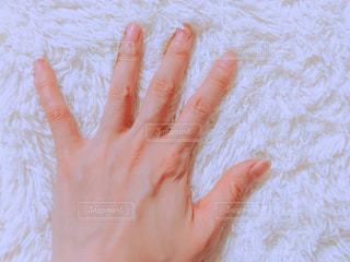 冬用の寝具の肌触りの写真・画像素材[1675917]