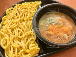 濃厚魚介豚骨スープつけ麺の写真・画像素材[1796136]