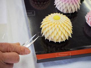 カラコロ工房の和菓子作り体験。みほん。の写真・画像素材[1801671]
