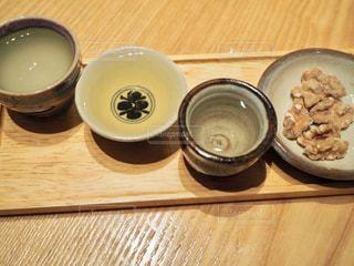 星野リゾート界出雲の日本酒バーで島根の地酒を飲みくらあの写真・画像素材[1804796]