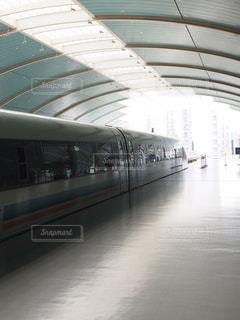 国際空港と龍陽路駅を結ぶ「上海トランスラピッド(上海マグレブ)」の写真・画像素材[1815861]