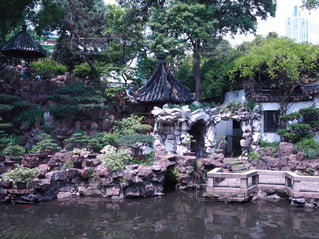 上海の豫園の写真・画像素材[1820329]