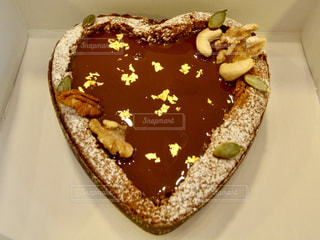 ハートのケーキの写真・画像素材[1821691]