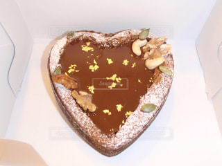 ABCクッキングのハートのケーキの写真・画像素材[1821692]