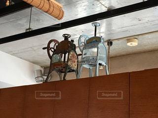 和キッチンかんなのレトロなかき氷機の写真・画像素材[1824921]