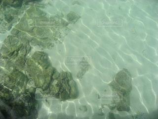 アメデ灯台の浅瀬の写真・画像素材[1827667]
