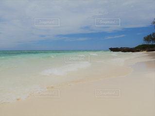 ニューカレドニアブーライユの海のツアー/無人島グリーン島でシュノーケリングの写真・画像素材[1827675]
