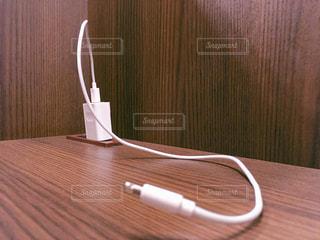 iPhone充電器の写真・画像素材[1838280]