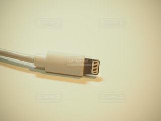iPhone充電器の写真・画像素材[1839264]