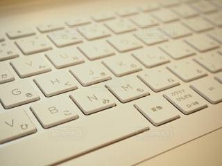 ノートパソコンのキーボードの写真・画像素材[1841300]