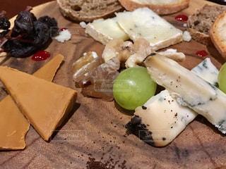 チーズ盛り合わせの写真・画像素材[1852625]