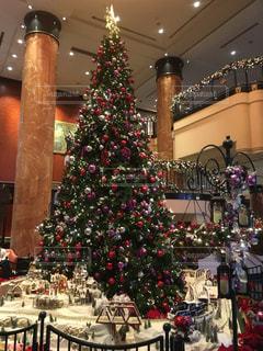 ウェスティンのクリスマスツリーの写真・画像素材[2074561]