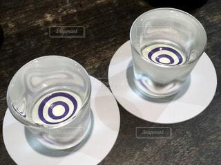 日本酒バーの日本酒飲み比べの写真・画像素材[2281816]