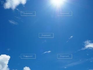 波照間島の夏空の写真・画像素材[2362105]