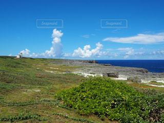 波照間島星空観測タワーの写真・画像素材[2387852]