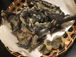 岩茸の天ぷらの写真・画像素材[2512372]