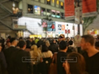 渋谷ハロウィン 2019.10.31 21時頃の写真・画像素材[2680693]
