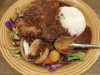 野菜を食べるカレーcampの写真・画像素材[3922275]