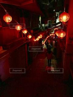 九份の夜の写真・画像素材[1070582]