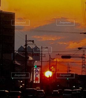 夕焼け空の写真・画像素材[1067449]